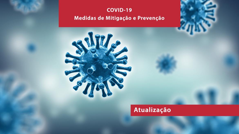 Atualizações ao nível das medidas de mitigação dos impactos do Covid-19 para as nossas empresas.